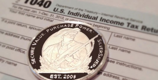 capital gains on silver coins sale