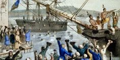 boston tea party tax protest