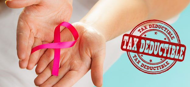 tax deductible best breast cancer charities