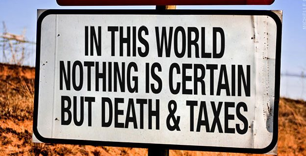 death taxes quote