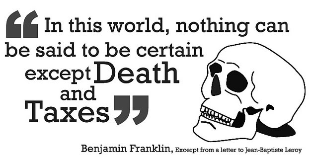Origin Of The Death Taxes Quote History Of The Famous Quotation