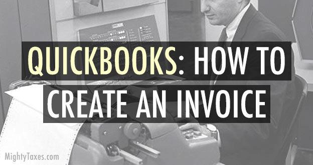 quickbook online how to create invoice