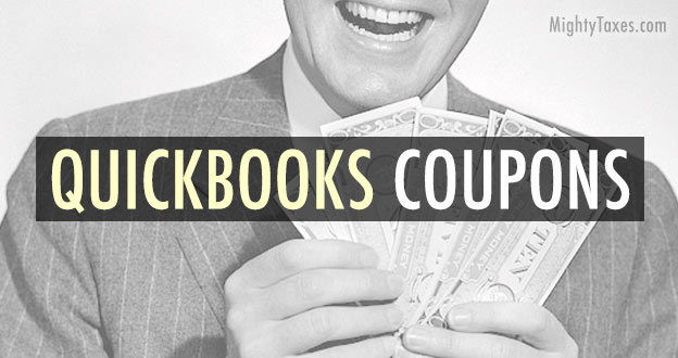 using quickbooks coupon