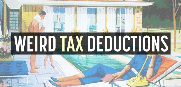 weird tax deductions
