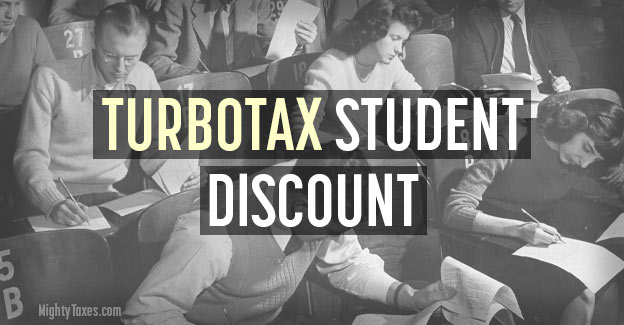turbotax student discount
