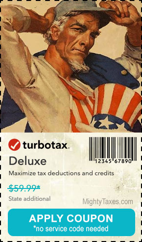 turbotax deluxe coupon