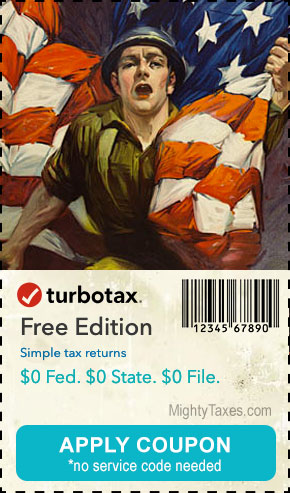 turbotax free edition coupon state