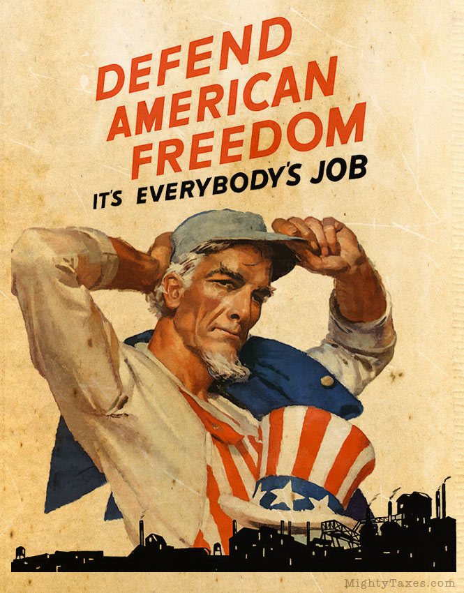 uncle sam propaganda poster american freedom