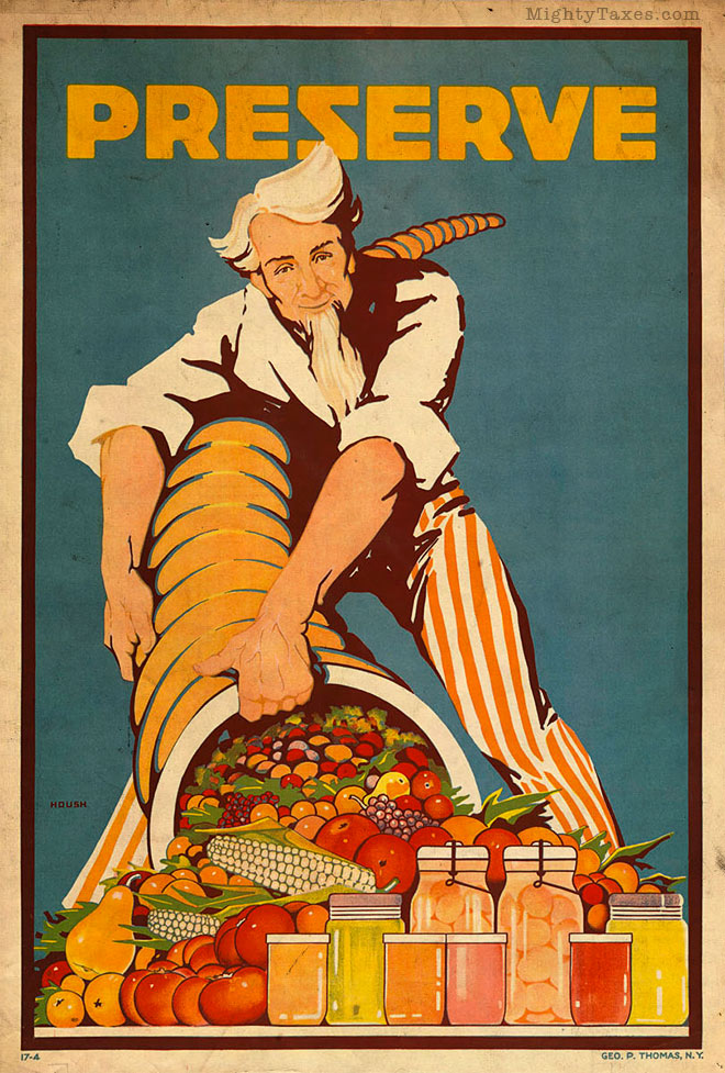 uncle sam propaganda wwi preserve