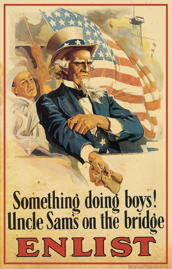 uncle sam us propaganda poster