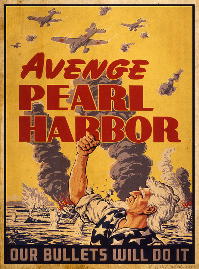 uncle sam wwii pearl harbor poster