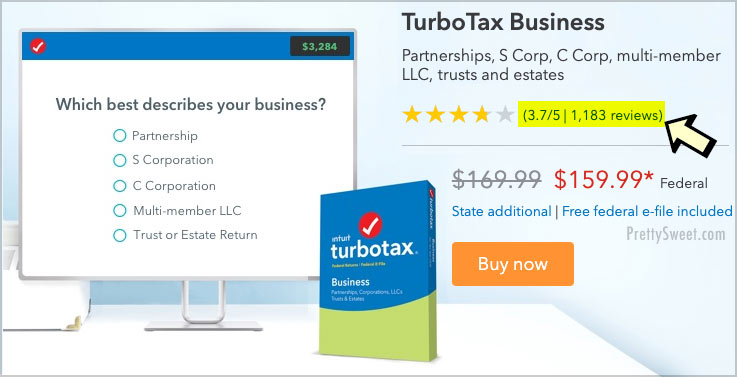 turbotax business customer reviews