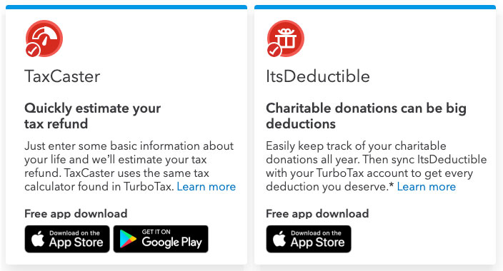 free apps from turbotax
