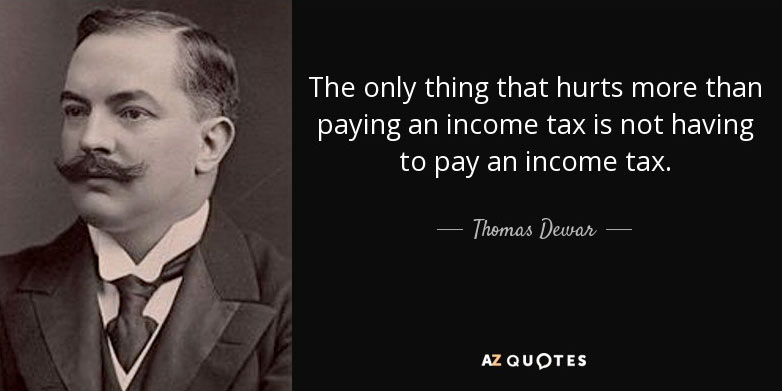quote income tax funny