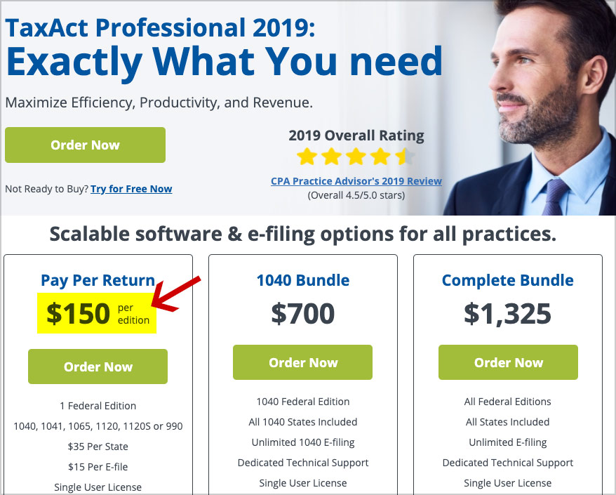 taxact professional discount