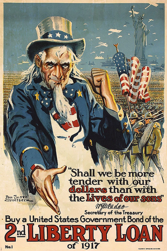 creepy uncle sam poster
