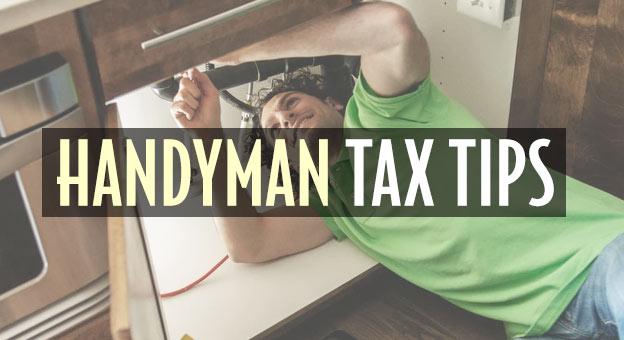 handyman tax tips
